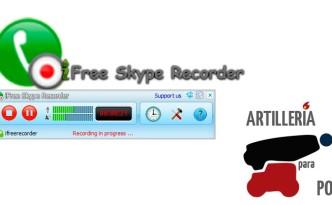 iFree Skype Recorder en Artillería para Podcast